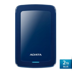 ADATA HV300 2TB Biru - Hard Disk Eksternal USB3.1 Slim
