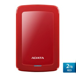 ADATA HV300 2TB Merah - Hard Disk Eksternal USB3.1 Slim