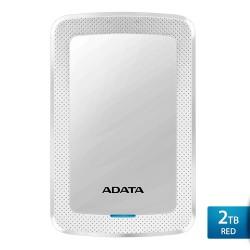 ADATA HV300 2TB Putih - Hard Disk Eksternal USB3.1 Slim