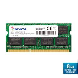 ADATA Premier DDR3L 1600 SO-DIMM PC3L-12800 Memory - 8GB