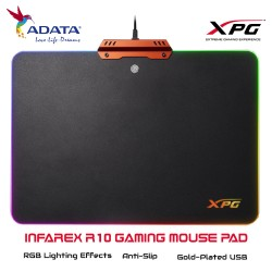 ADATA XPG INFAREX R10 Gaming Mouse Pad RGB Lighting Effects