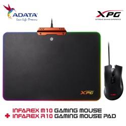 ADATA XPG INFAREX M10 Gaming Mouse + INFAREX R10 Gaming Mouse Pad