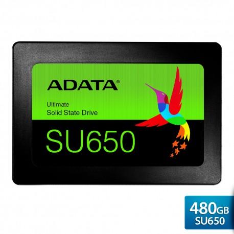 """ADATA SU650 – SSD Internal 3D NAND 2.5"""" SATA III – 480GB"""