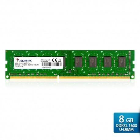 ADATA Premier DDR3L 1600 U-DIMM PC3L-12800 Memory - 8GB