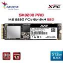 ADATA XPG SX8200 PRO 512GB PCIe Gen3x4 M.2 2280 Solid State Drive