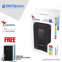 ADATA H710 Pro - 2TB Hitam - Hard Disk Eksternal USB3.1 Anti-Shock & Waterprooff