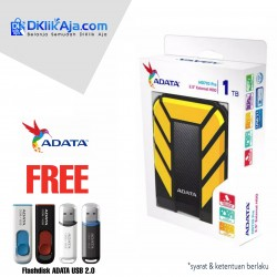 ADATA H710 Pro - 1TB Kuning- Hard Disk Eksternal USB3.1 Anti-Shock & Waterprooff
