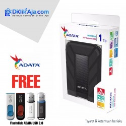 ADATA H710 Pro - 1TB Hitam - Hard Disk Eksternal USB3.1 Anti-Shock & Waterprooff