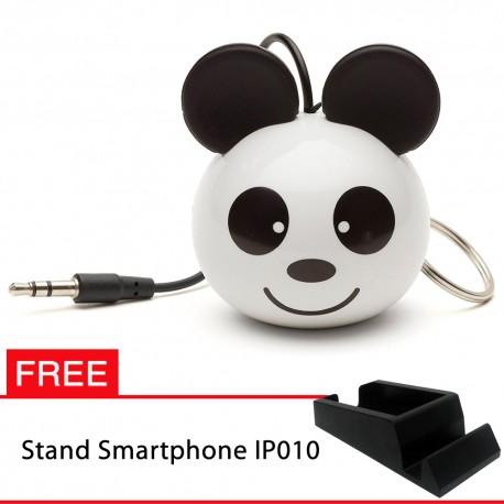 OptimuZ Mini Buddy Portable Speaker Character - Panda - FREE Stand HP