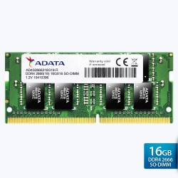 ADATA Premier DDR4 2666MHz SO-DIMM RAM 260-pin untuk Laptop – 16GB Hijau