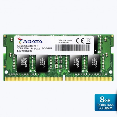 ADATA Premier DDR4 2666MHz SO-DIMM RAM 260-pin untuk Laptop – 8GB