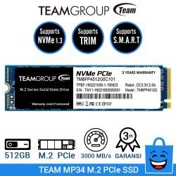 TEAM SSD MP34 M.2 2280 PCIe Gen3x4 NVMe 1.3