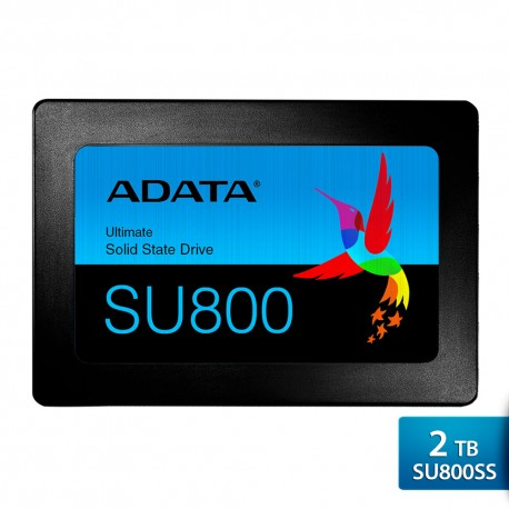 "ADATA SU800SS – SSD Internal 3D NAND Flash 2.5"" SATA III – 2 TB"