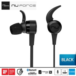 Optoma NuForce BE Live5 Earphone Wireless Bluetooth Audio - Hitam