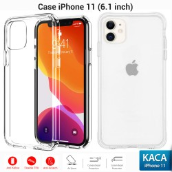OptimuZ Soft Case Pelindung iPhone 11 – Clean Glass
