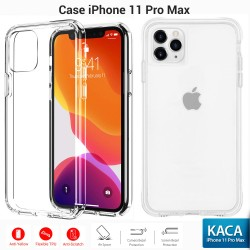 OptimuZ Soft Case Pelindung iPhone 11 Pro MAX – Clean Glass