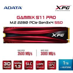 Adata XPG SSD 1TB Gammix S11 Pro PCIe Gen3x4 M.2 2280 Heatsink