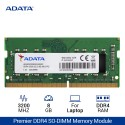 ADATA Premier DDR4 3200 SO-DIMM RAM Laptop – 8GB Hijau