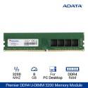 ADATA Premier DDR4 3200 U-DIMM RAM PC Desktop - 8GB Hijau