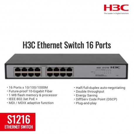 H3C S1216 Ethernet Switch 16 Port