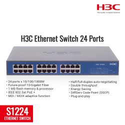 H3C S1216 Ethernet Switch 24 Port
