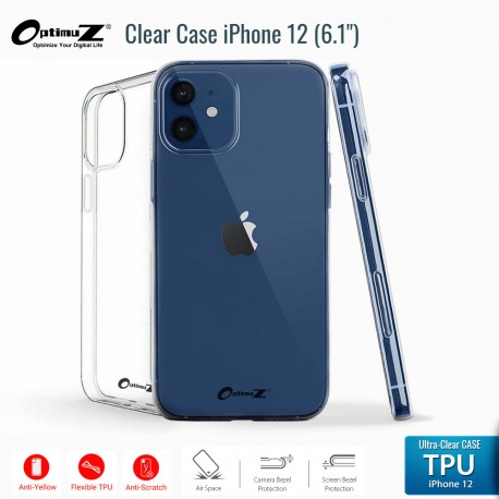 OptimuZ Case Transparan TPU iPhone 12