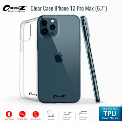 OptimuZ Case Transparan TPU iPhone 12 Pro Max