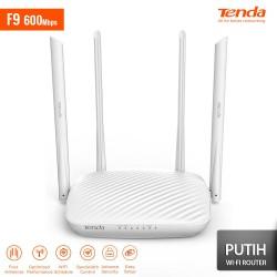 TENDA F9 Smart Wireless Router 600Mbps - Putih
