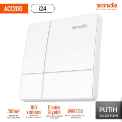 TENDA AC1200 i24 Access Point Wave 2 Gigabit - Putih