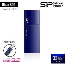 Silicon Power Blaze B05 Flashdisk USB3.2 - 32GB Blue