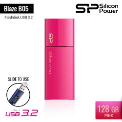 Silicon Power Blaze B05 Flashdisk USB3.2 - 128GB Pink