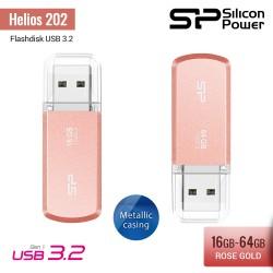 Silicon Power Helios 202 Flashdisk USB3.2 - 16GB-64GB Rose gold