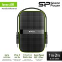 Silicon Power Armor A60 Harddisk Eksternal USB3.2 - 1TB-2TB Black-Green