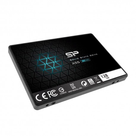"Silicon Power Ace A55 SSD 2.5"" SATA III 3D TLC - 128GB"