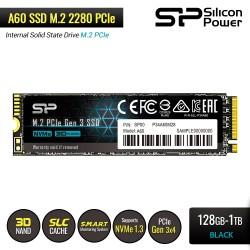 Silicon Power A60 SSD M.2 2280 PCIe Gen3x4 NVMe1.3 - 128GB-1TB