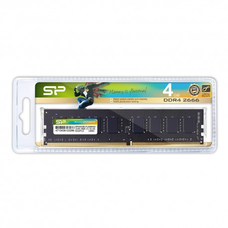 Silicon Power DDR4 2666MHz CL19 UDIMM - 4GB