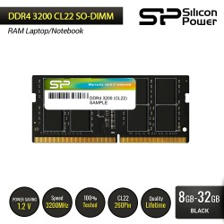Silicon Power DDR4 3200MHz CL22 SODIMMRAM Laptop -8GB-32GB