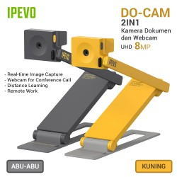 IPEVO DO-CAM USB Kamera Dokumen dan Webcam - Grey/Yellow