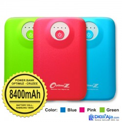Optimuz Power Bank Cruzee 8400mAh-Blue