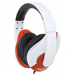 Oblanc SHELL200 Stereo Headphones with In-line Microphone & Call Control - NC3-1(white)