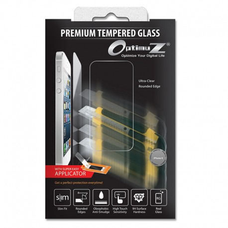 Optimuz Tempered Glass Asahi 0.33mm with Applicator for iPhone 6