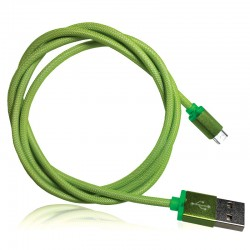 OptimuZ Cable Network Micro USB - Green