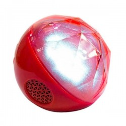 Speaker Color Ball Bluetooth - Red