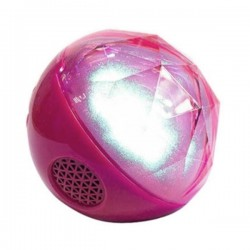 Speaker Color Ball Bluetooth - Pink