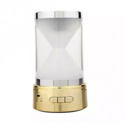 Speaker Mini Hourglass BT-18 Bluetooth - Gold