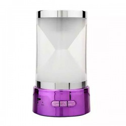 Speaker Mini Hourglass BT-18 Bluetooth - Purple