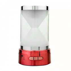 Speaker Mini Hourglass BT-18 Bluetooth - Red