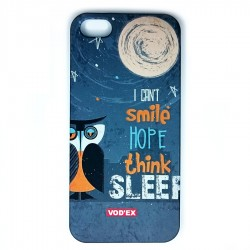 Vod'ex Hard Back Case Cover for iPhone 5/5S – Owl in the Night