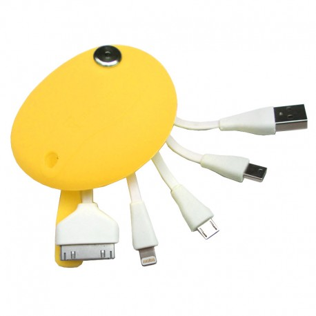 Kabel XT-11 Silicon Pouch - Kuning