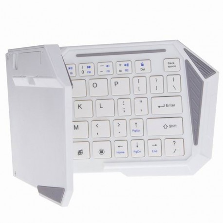 Keyboard Lipat / Folding Bluetooth BK-03S - Putih
